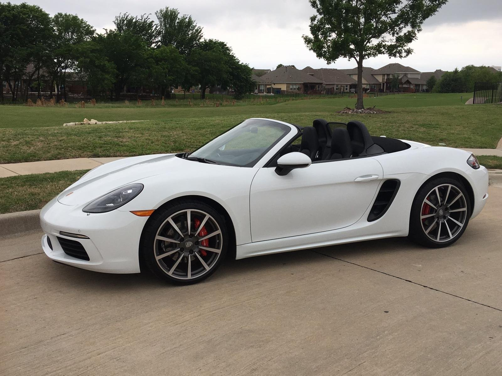 new white boxster s sc porsche 718 forum. Black Bedroom Furniture Sets. Home Design Ideas