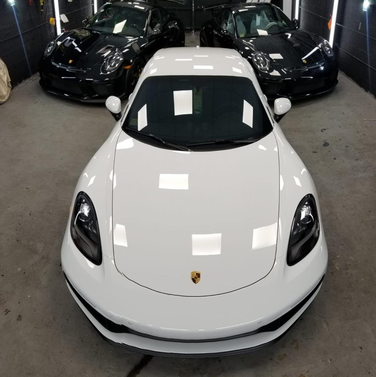 2019 CGTS White With White Wheels