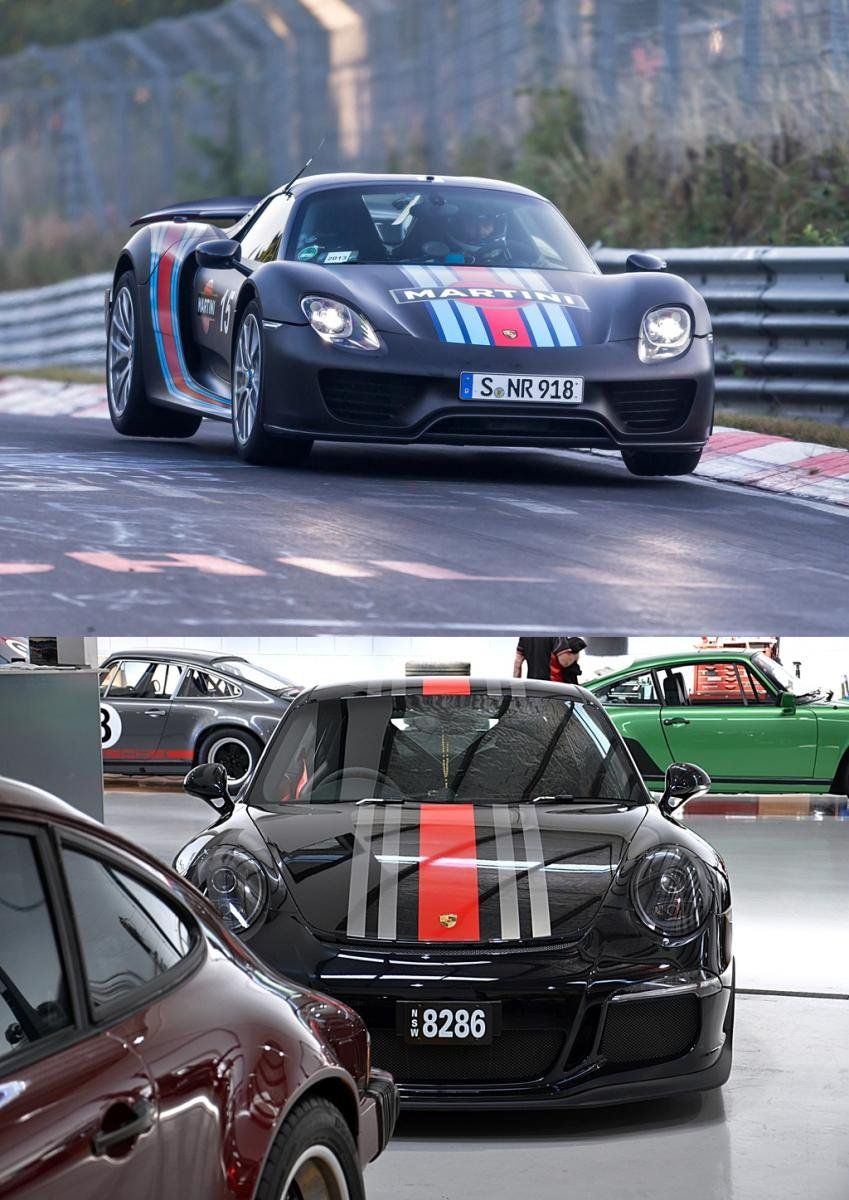 Racing Stripes Porsche 718 Forum