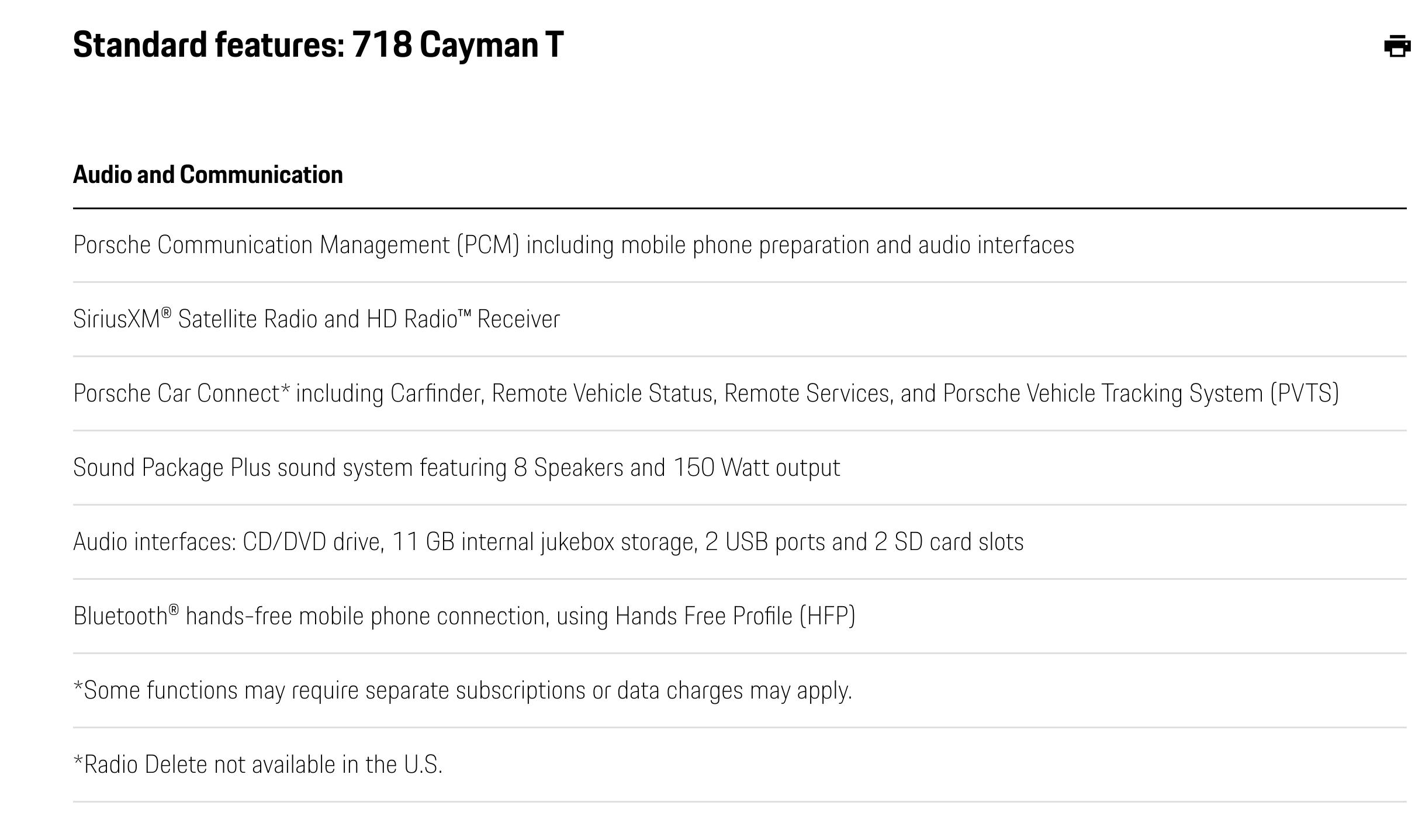 718 T In Us Page 4 Porsche 718 Forum