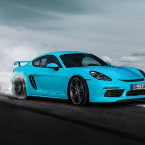 Techart Tuned 718 Cayman Front