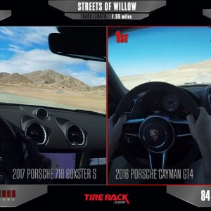 718 Boxster S VS Cayman GT4